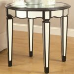 furniture silver accent table luxury gail accents unique black round coaster target lamp shades industrial art deco end living room console half moon mirrored kirklands tables bar 150x150