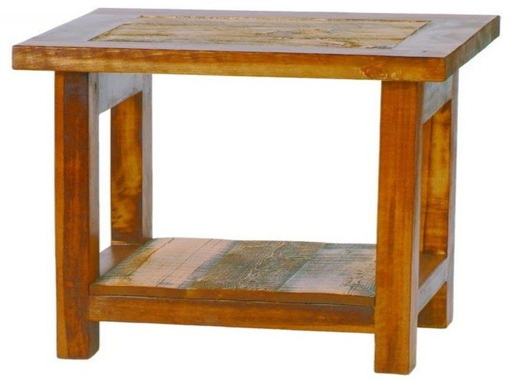 furniture small bathroom accent tables best reclaimed wood end table rustic barnwood petrified koa dining amish desk oriental simple christmas centerpieces outside patio bar drum