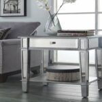 furniture small bathroom accent tables fresh mirrored luxury painted silver color table with black bedside outdoor lights living room coffee set antique drawer galvanized metal 150x150