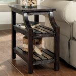 furniture small chairside tables for inspiring end table design side coffee raymour flanigan recliner chair tall accent with drawer charging station drawers nar storage round 150x150