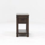 furniture small chairside tables for inspiring end table design wedge shaped wood side with drawers lamp sets living room tall accent drawer round espresso cha pier one imports 150x150