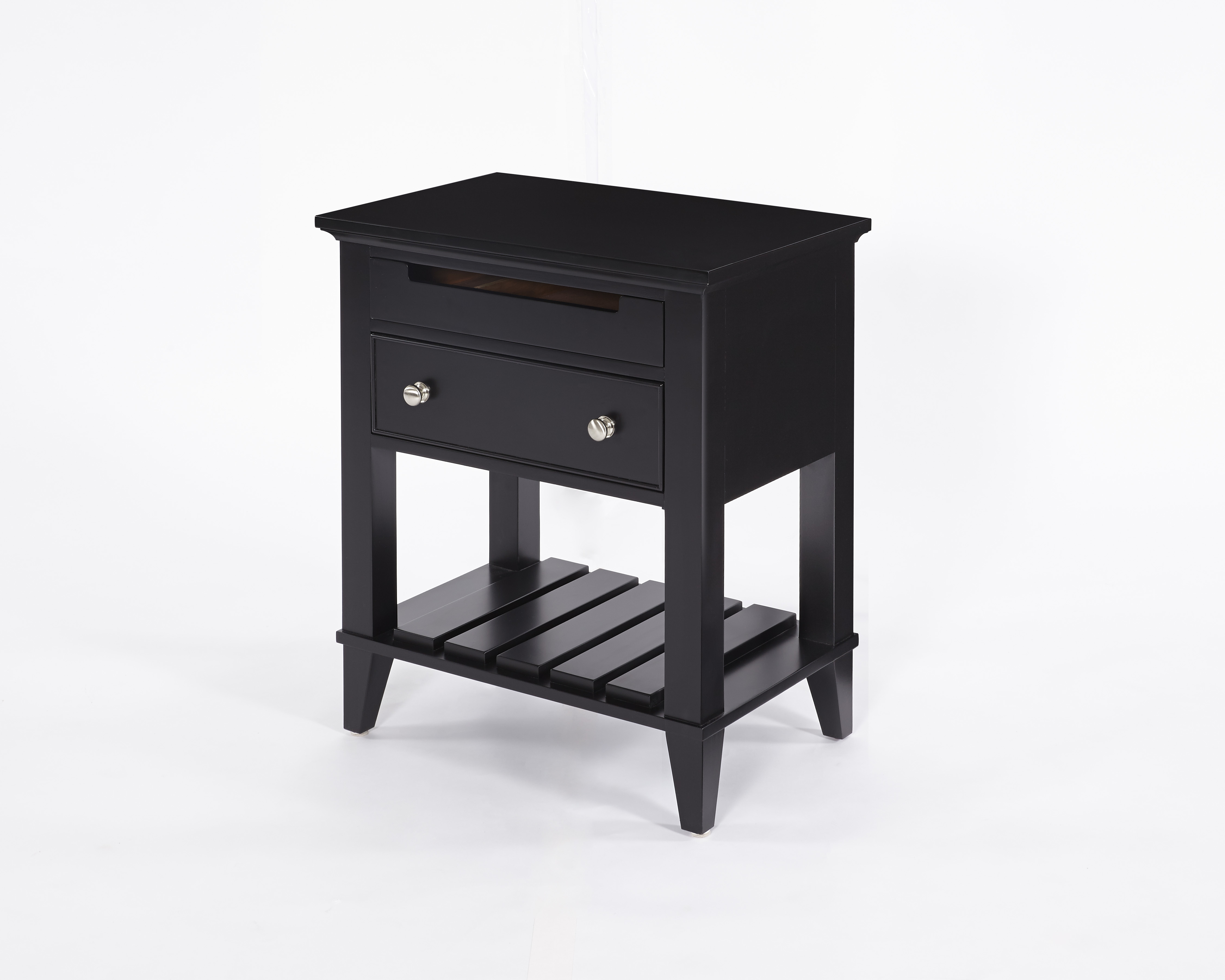 furniture small tall nightstand drawer malm side two with shelf night stand ikea table prepac accent white while true that heavy sleeper mattress might make difficult get out the