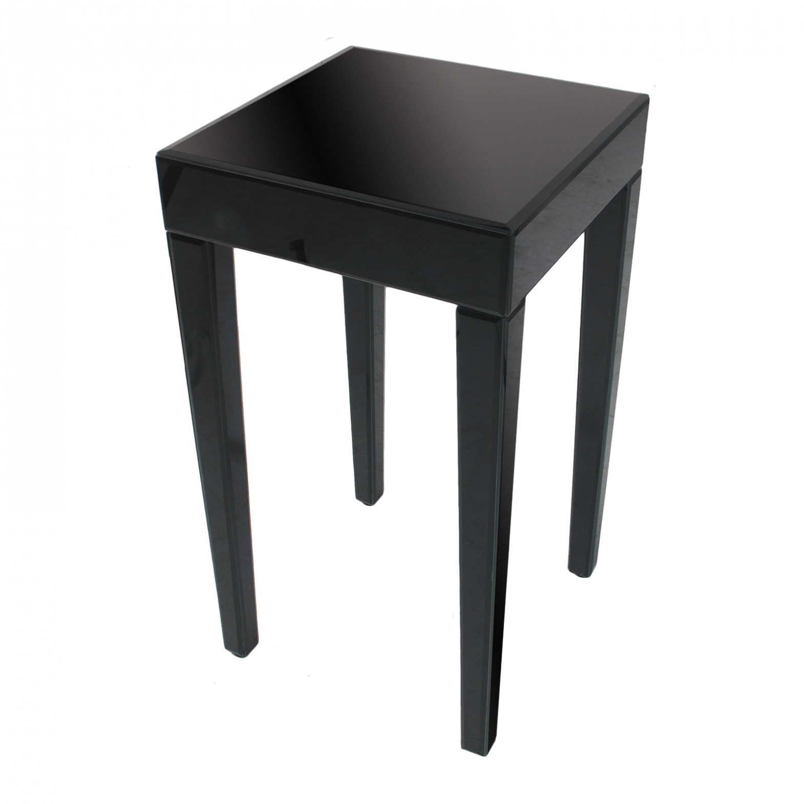 furniture square black side table with four wooden legs pertaining small accent wood beach outdoor ideas diy canadian tire patio cherry coffee tables bar style extra console