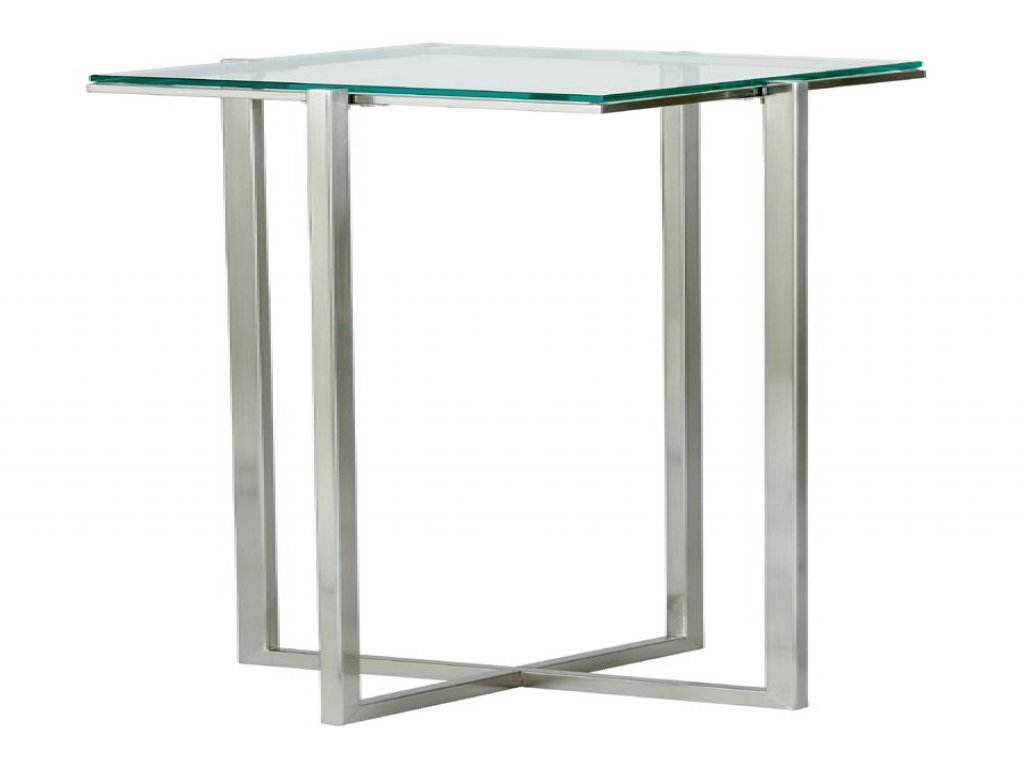 furniture tall accent table luxury marquetry inlaid round wood elegant adesso glacier pedestal side lamps coffee with charging station metal folding adjustable height white