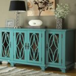 furniture teal accent table inspirational reigna oval new blue cabinet modern kitchen cabinetry distressed living room coffee battery powered lights vita silvia screen porch 150x150
