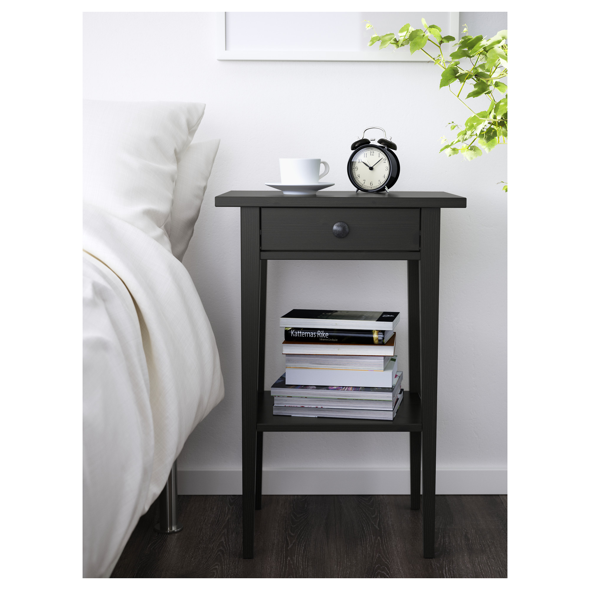 furniture thin accent table floating nightstand ikea night locker dresser hemnes stands locking tables tarva clearance wall mounted stand nite rast mirrored bedside metal basket