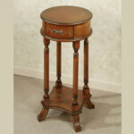 furniture trellis round accent table with regard small wood antique oak charming your house idea embroidered tablecloth bedroom essentials distressed coffee and end tables pulls 150x150