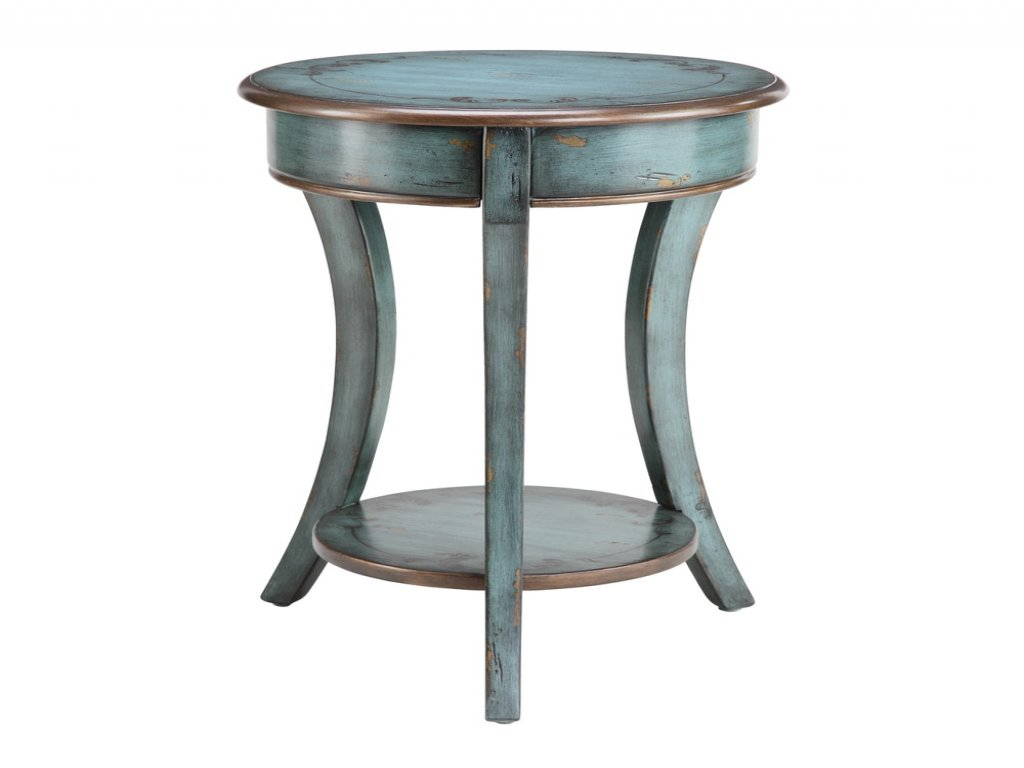 furniture turquoise accent table unique southwest inspirational washed round rustic vintage aged target nautical end lamps chair side with and usb for charging electronics designs