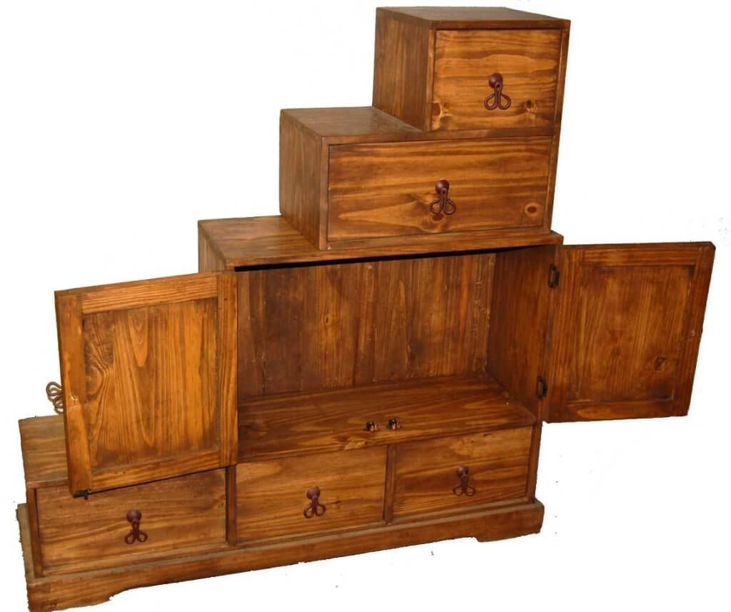 furniture unique stair steps wooden chest storage design chests trunks accent farmhouse dining room metal accents for round breakfast table bedroom chairs sea themed ethan allen
