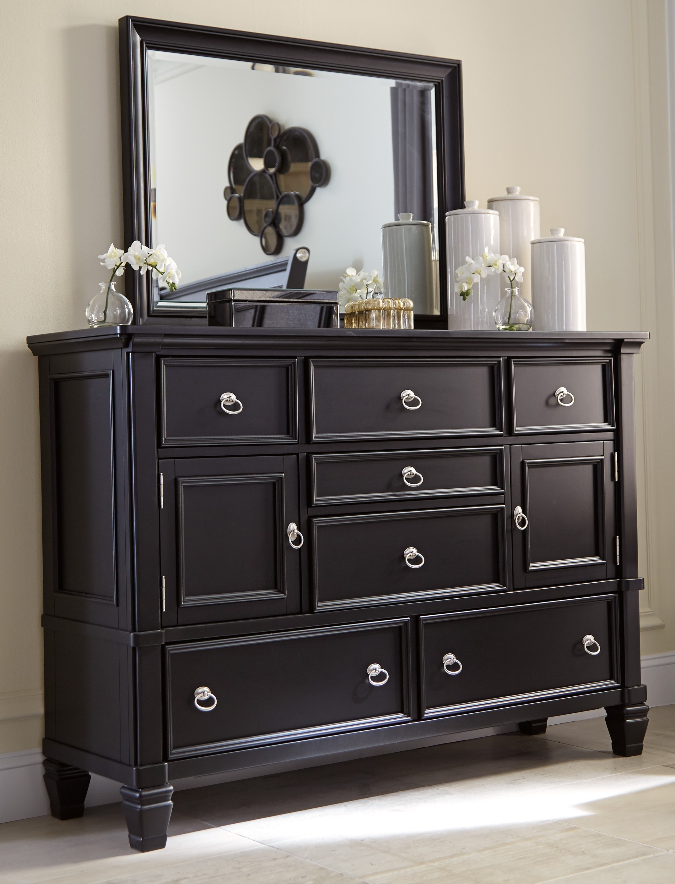 furniture upgrade your home with pretty mirrored dresser ashley target accent table mirror ikea desk combo multi colored chest drawers narrow dressers nightstand short side pier