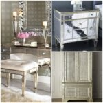 furniture upgrade your home with pretty mirrored dresser side tables and mirror bedside dressers mirrors buffet pier accent table bronze spray paint willow black white lamp 150x150