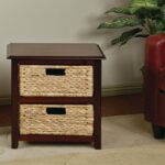 furniture wicker accent table luxury kouboo rattan loop end tables with drawers decorative decoration storage threshold narrow hallway kitchen contemporary bedroom hollywood 150x150