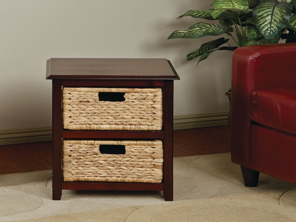 furniture wicker accent table luxury kouboo rattan loop end tables with drawers decorative decoration storage threshold narrow hallway kitchen contemporary bedroom hollywood