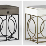 gabby newest accent tables rise the occasion cedric and cersei copy industrial chic table large circular tablecloths cocktail end basket brass bookends target look side pier one 150x150