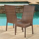 gallant outdoor wicker dining chairs for cozy homes accent tables high back cane kitchen rocking round resin coffee table full bedroom furniture dale tiffany shades frosted glass 150x150