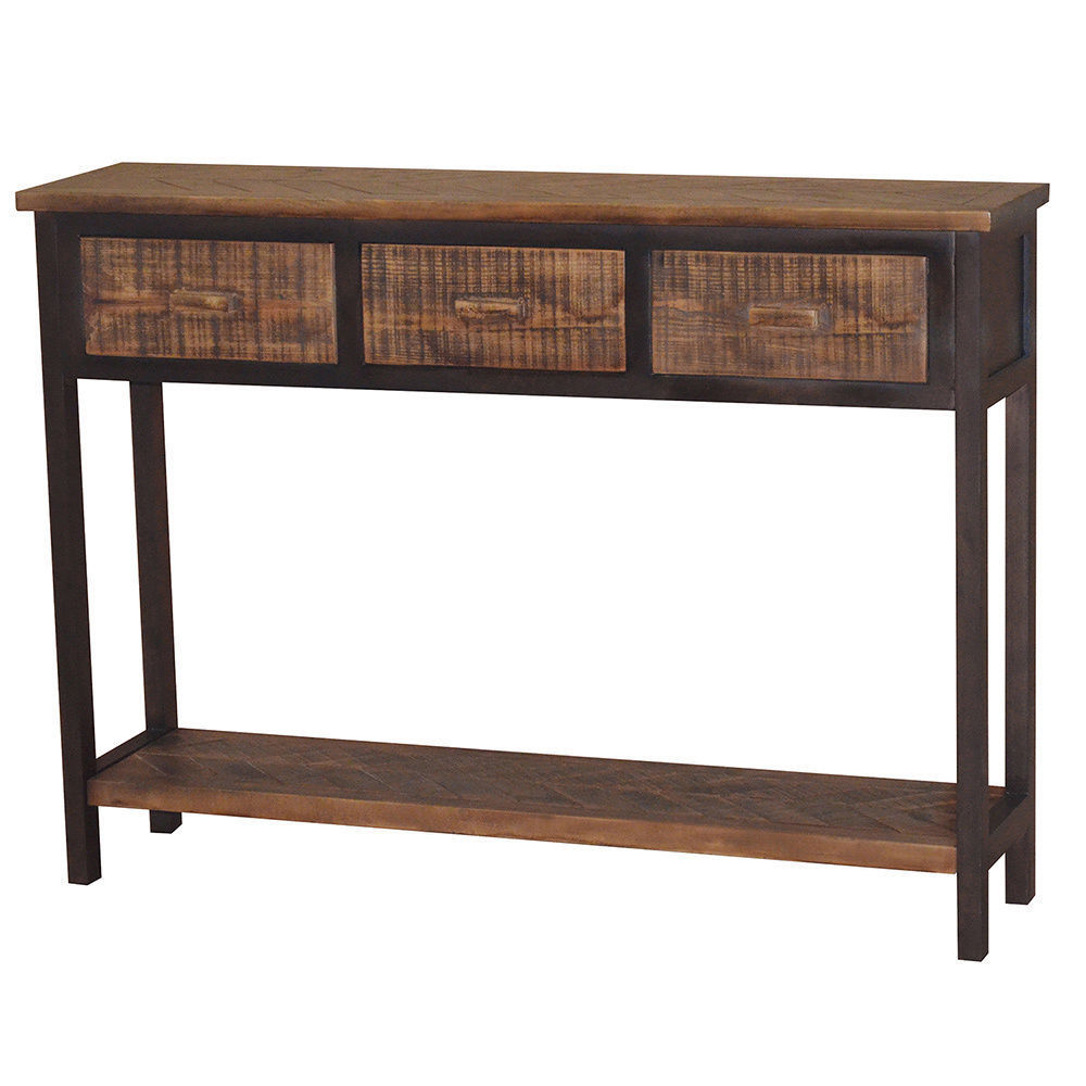 gallerie dcor wovenwood console table living room accent decorative tables west elm pillows threshold windham storage cabinet bedside end coffee sets industrial antique oak small