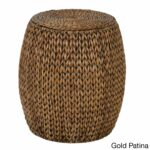 gallerie decor tall drum accent table free shipping today gold small round pedestal end walnut dining high console legion furniture cover ideas ashley set outdoor cushions 150x150