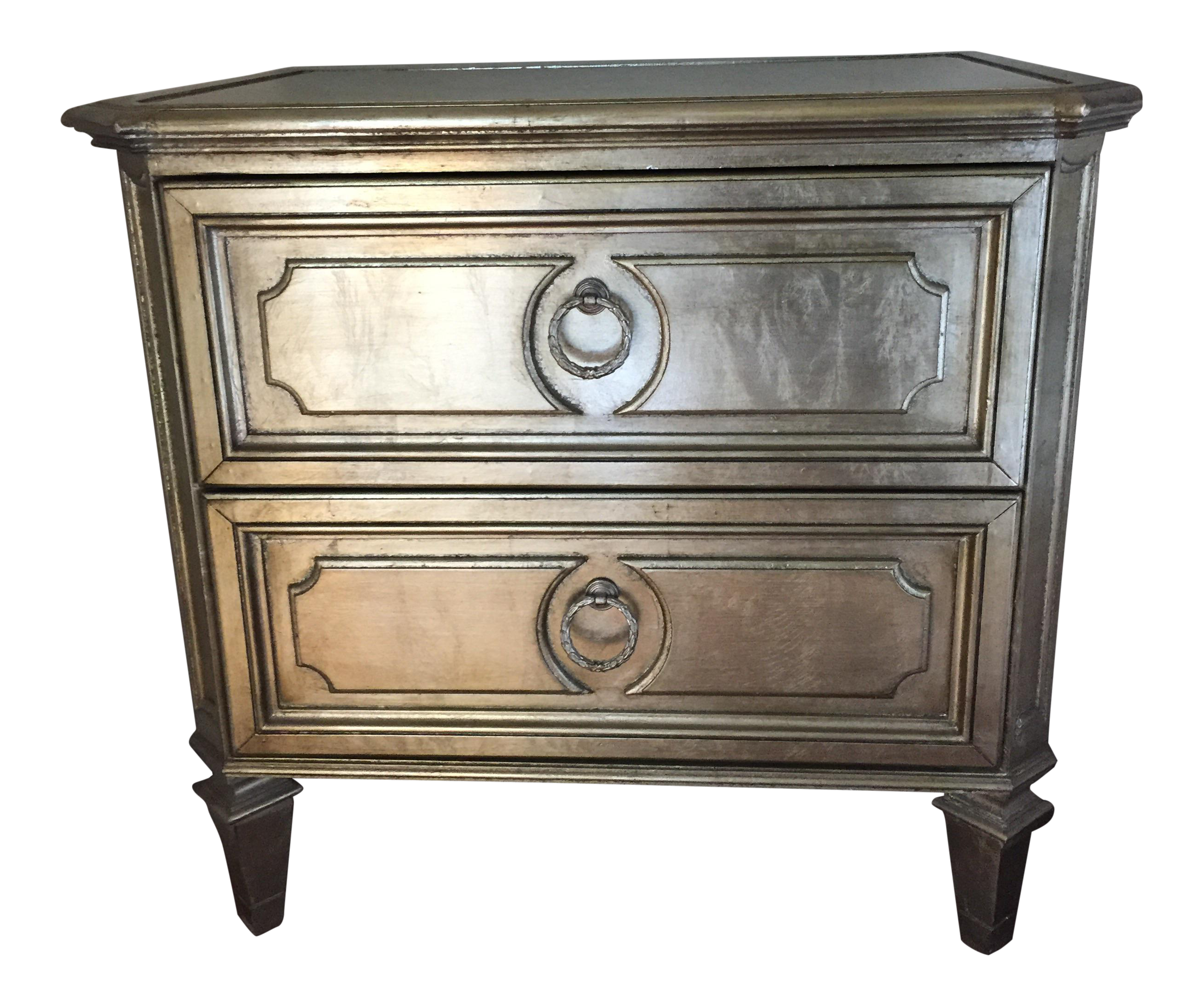 gallerie empire nightstand chairish accent table thin console with drawers grey wood coffee outdoor wicker end small short silver side teal target gold inexpensive tables beach