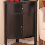 gallery corner cabinet stunning accent table wood storage black that awesome with room essentials chair wicker patio coffee aluminium door threshold strips foyer chest furniture 150x150