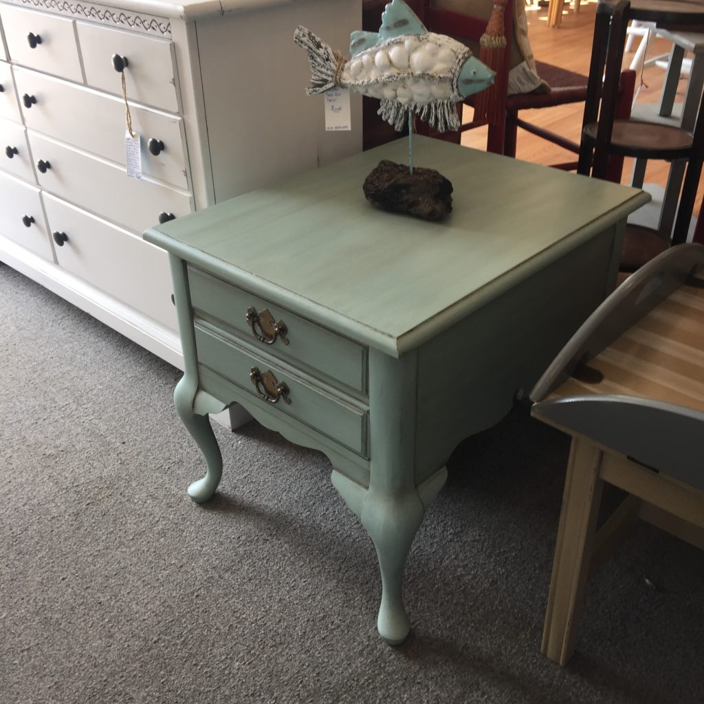 gallery seaporium img timor wood trunk accent table great little end with single drawer painted duck egg blue and glazed trestle base ikea bedroom storage ideas chair legs glass
