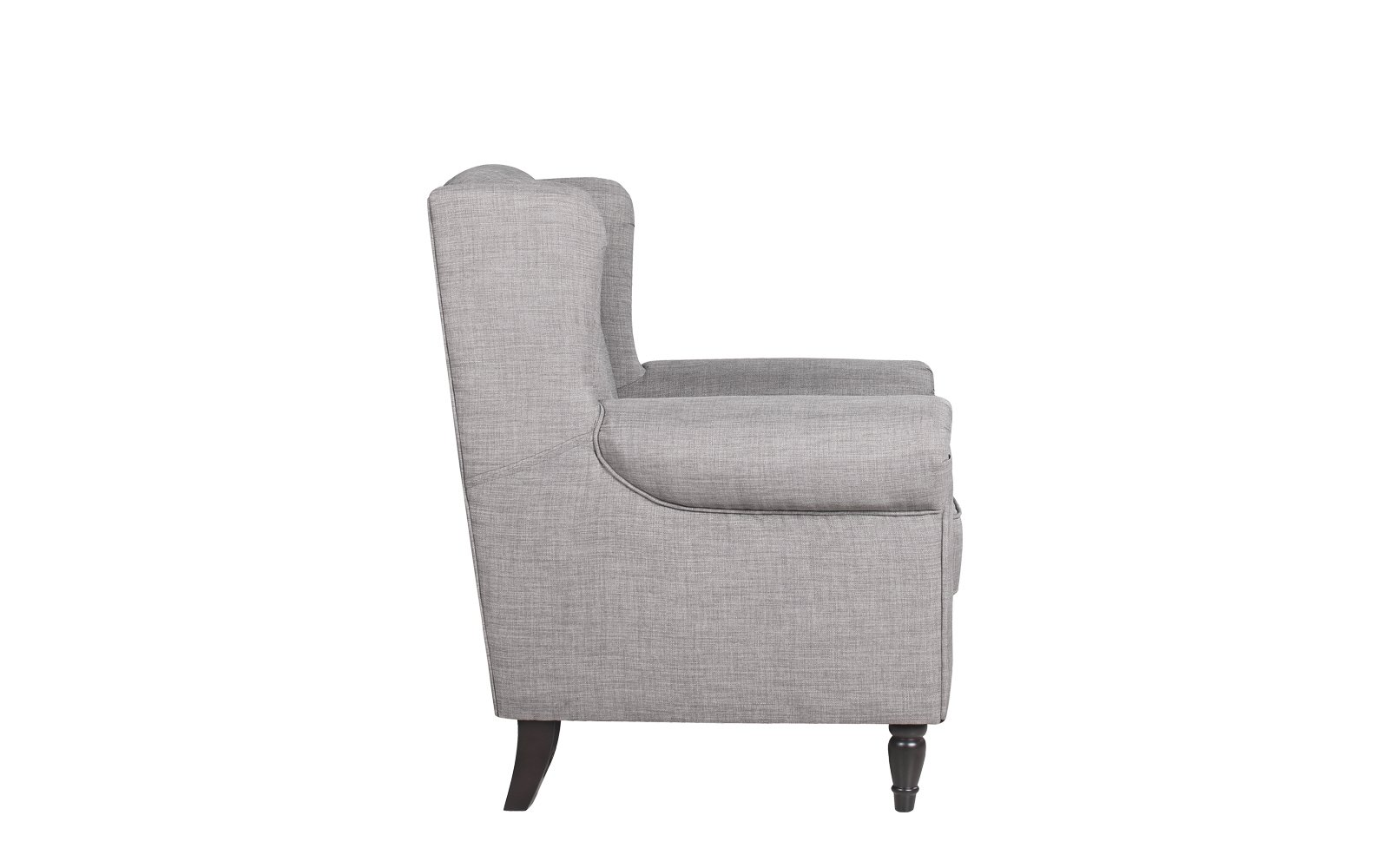 galway classic scroll arm linen accent chair sofamania lgy linon table white light grey side bar stools carpet termination strip target vanity inch square tablecloth bath and