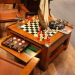 game room decor ideas with outstanding furniture accents accent table coffee multi storage settee side tables tall narrow drawer mirrored bedside placemats carpet metal strip 150x150