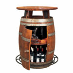 garden wine barrel furniture table ideas tables made from whiskey barrels racks out bistro accent full size dining chairs edmonton black glass coffee grill spatula narrow bedside 150x150