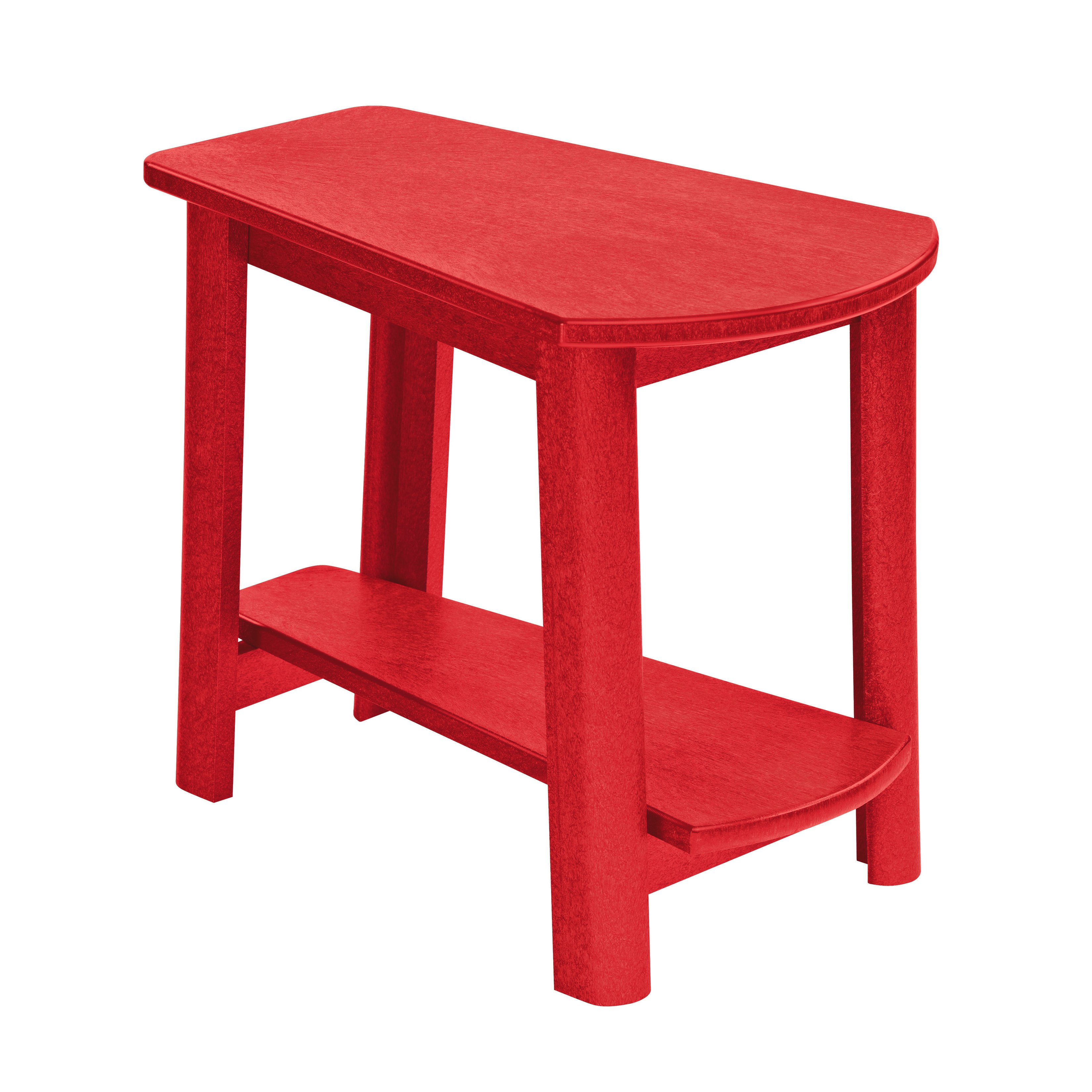 generations red tapered style accent table free shipping today drawer chest patio umbrella base glass coffee and end sets outdoor weights deep cabinet pottery barn kitchen target