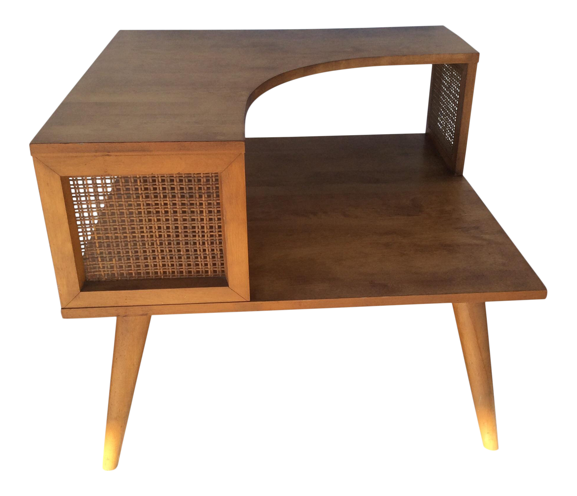 gently used conant ball furniture off chairish mid century modern russell wright designed for corner side table rustic accent west elm glass dining outdoor beverage cooler drop