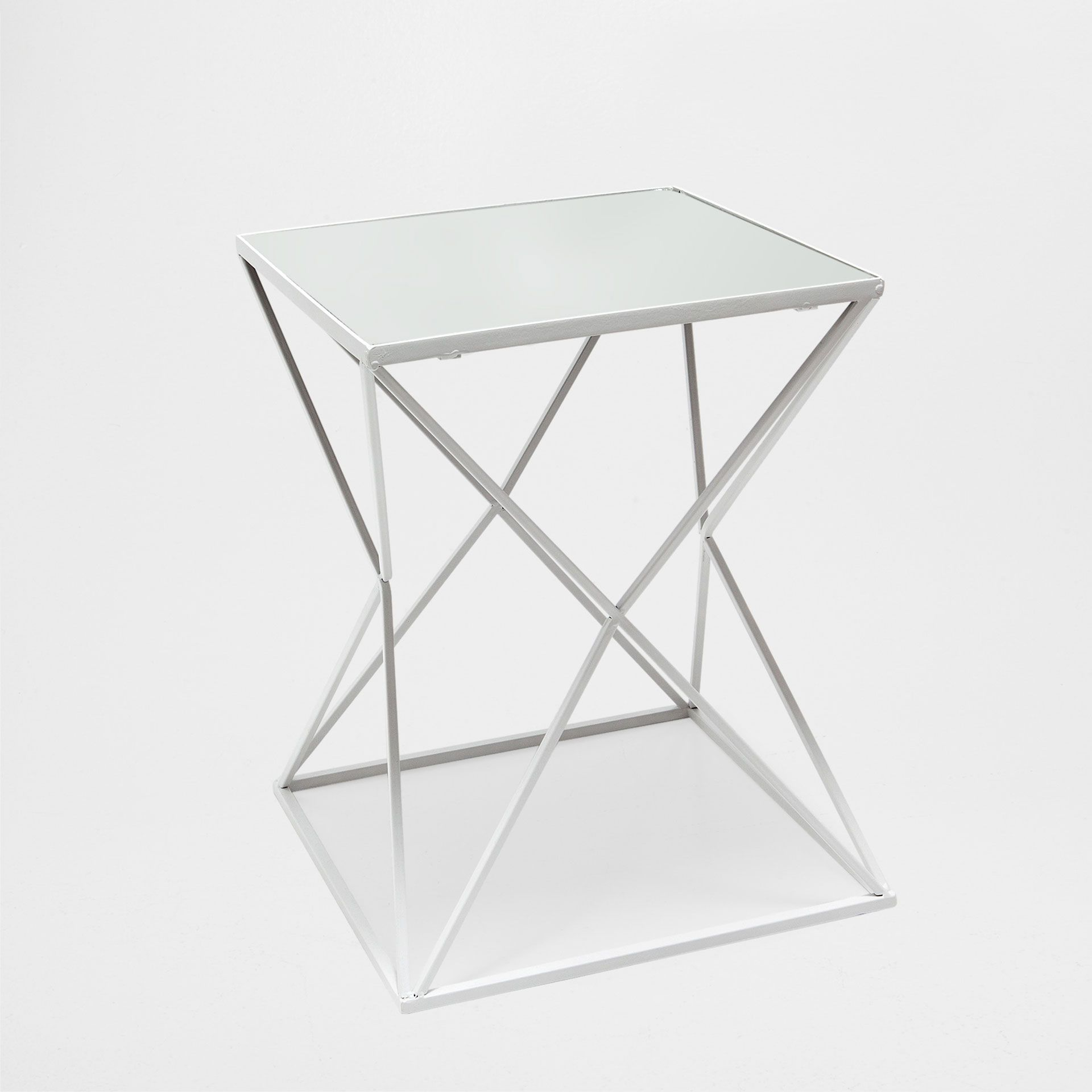 geometric side table occasional furniture zara home accent gold finish coffee french round tile bistro inch vinyl tablecloth wine rack bar mirrored teal accessories cube oak