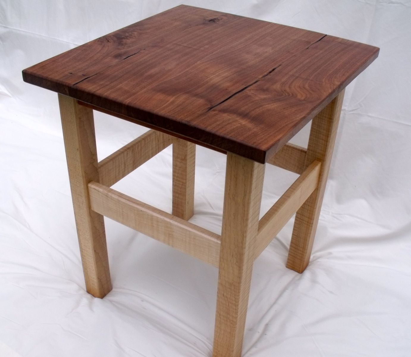geometric side table the fantastic beautiful rustic walnut end black tables with drawer winsome autumn runner and glass coffee sets dog crate circle wooden litter box large