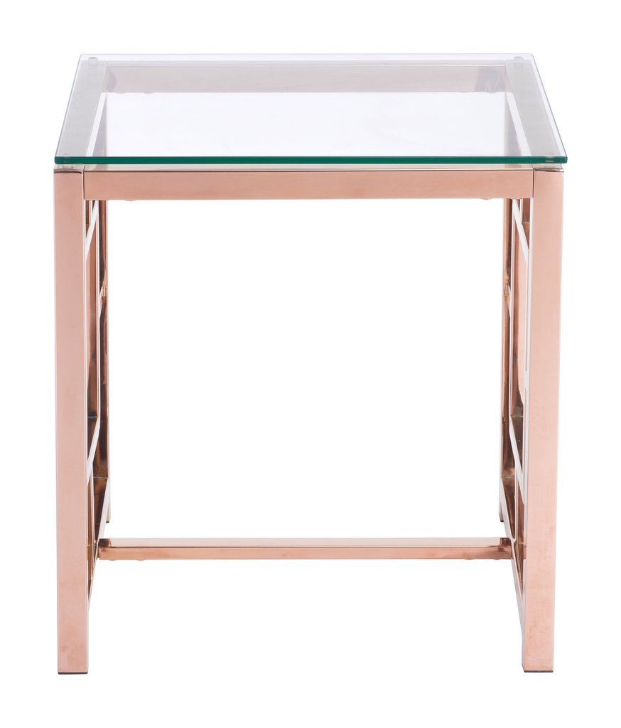 geranium side table rose gold home hoopla accent dale tiffany lamps clearance aamerica furniture vintage style small wooden bedside contemporary marble dining office target