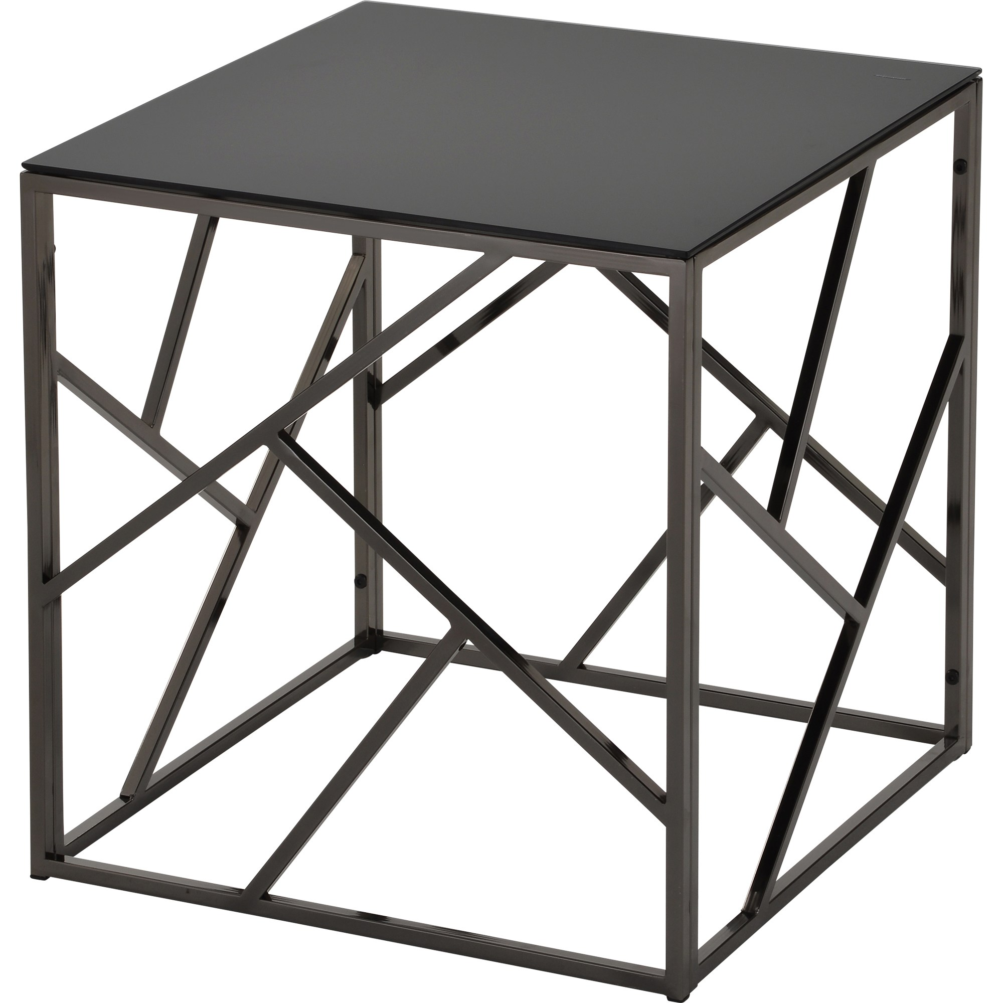 giada black glass and metal accent table free shipping today eyelet round wood end tables backyard furniture extra long antique gold trestle dining room unique small side nautical