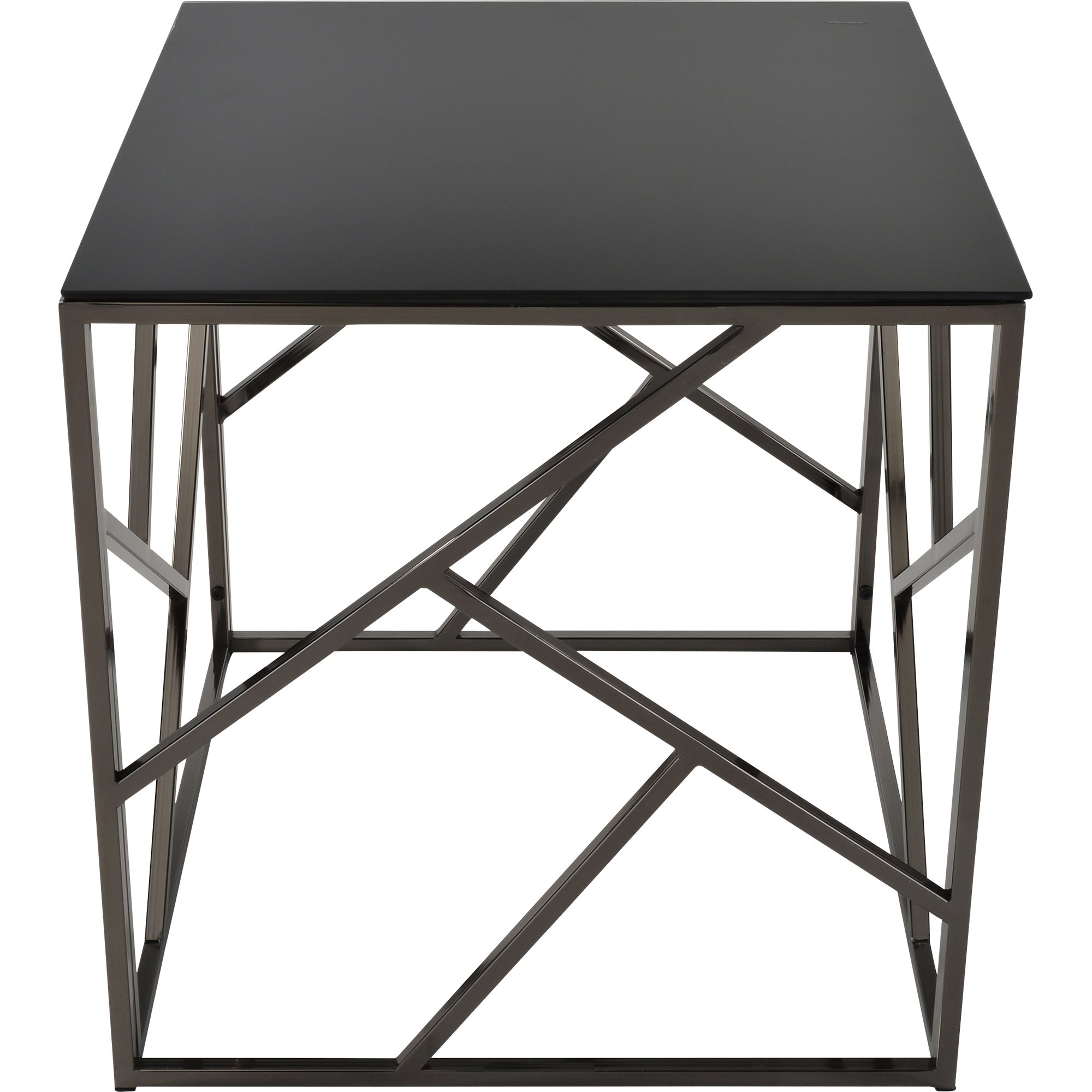 giada black glass and metal accent table free shipping today pottery barn white dishes bookends target hairpin leg side furniture danish mid century modern cherry folding coffee