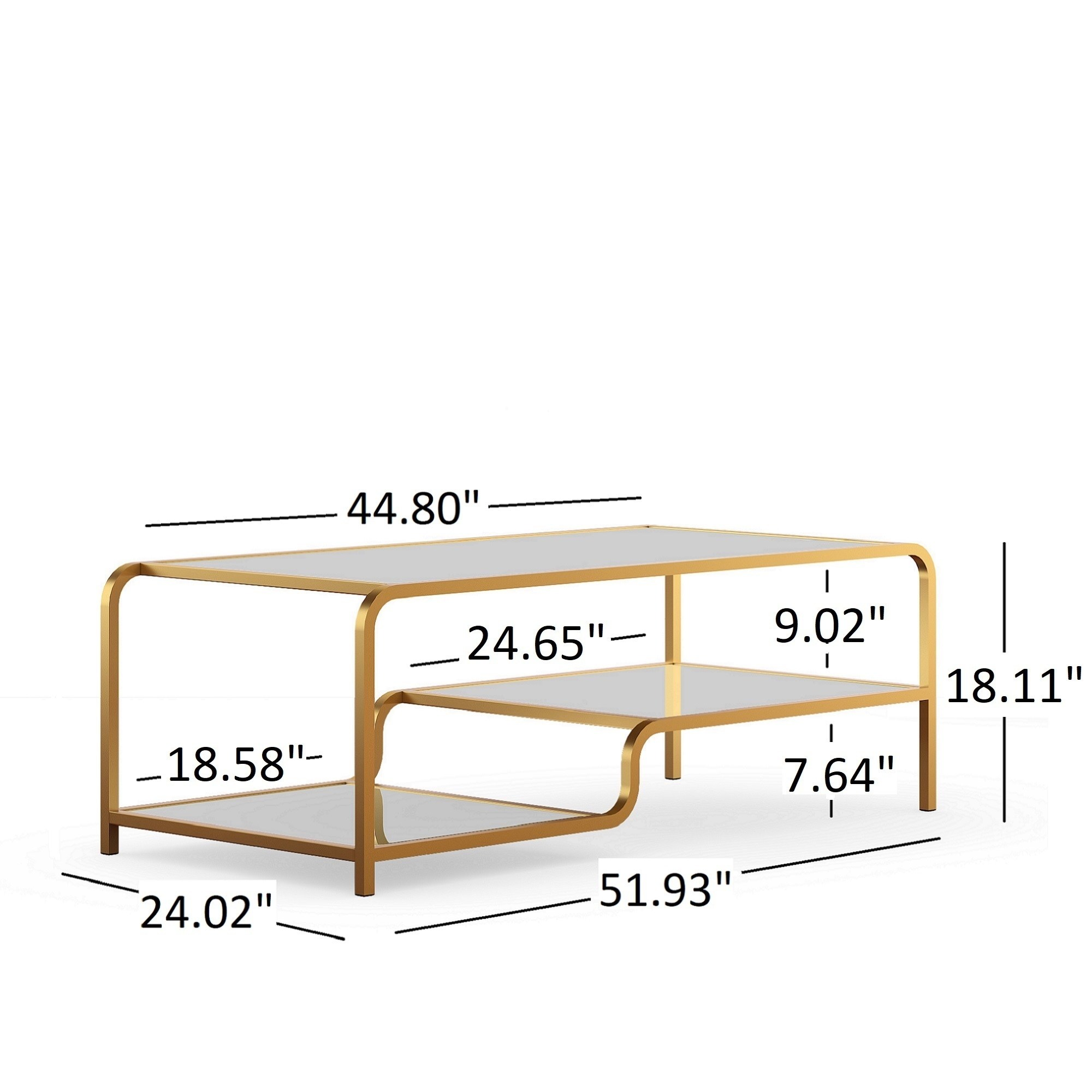 giana champagne gold mirrored shelves accent tables inspire table verizon tablet metal coffee legs wine rack small outdoor bench patio swing french beds tall lamps for bedroom
