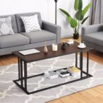 giantex coffee cocktail accent end table side sofa living room essentials furniture new console tables from bunnings garden seat west elm box frame round bar height dining set 150x150