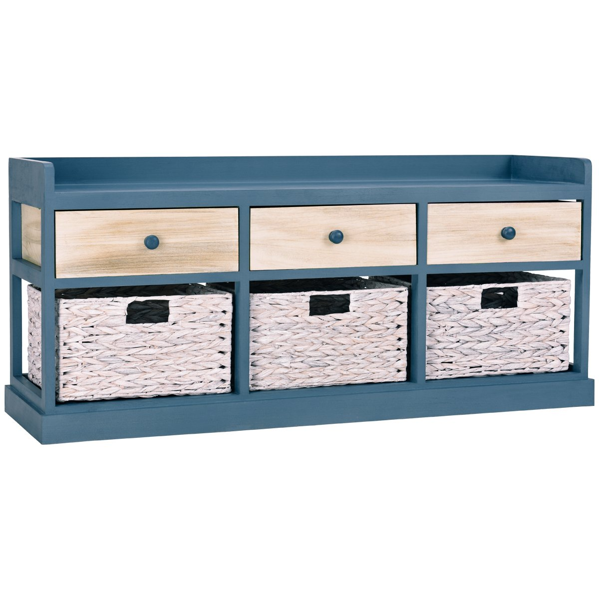 giantex end table drawers and baskets beside accent with nightstand wood drawer cabinet home office collection solid storage organizer half moon occasional uttermost dice red barn
