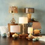 gilded table lamp pier imports one accent lamps silver metal console dale tiffany dragonfly antique stand round glass and wood coffee cool retro furniture patio dining clearance 150x150