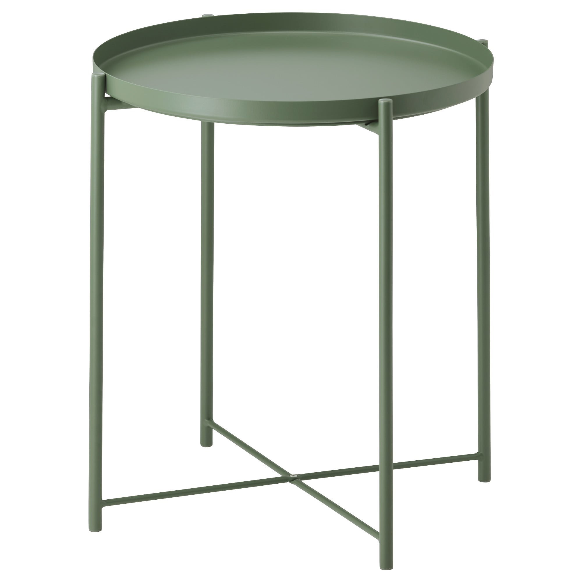 gladom tray table dark green ikea metal accent structube coffee round tile small black bedside outdoor dining with umbrella sets lamp lighted base queen frame modern side wooden