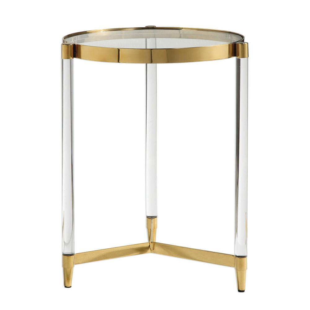 glam stainless steel acrylic accent table wood and metal nesting tables chrome door threshold small oak console with drawers furniture legs modern nautical rope lights plastic