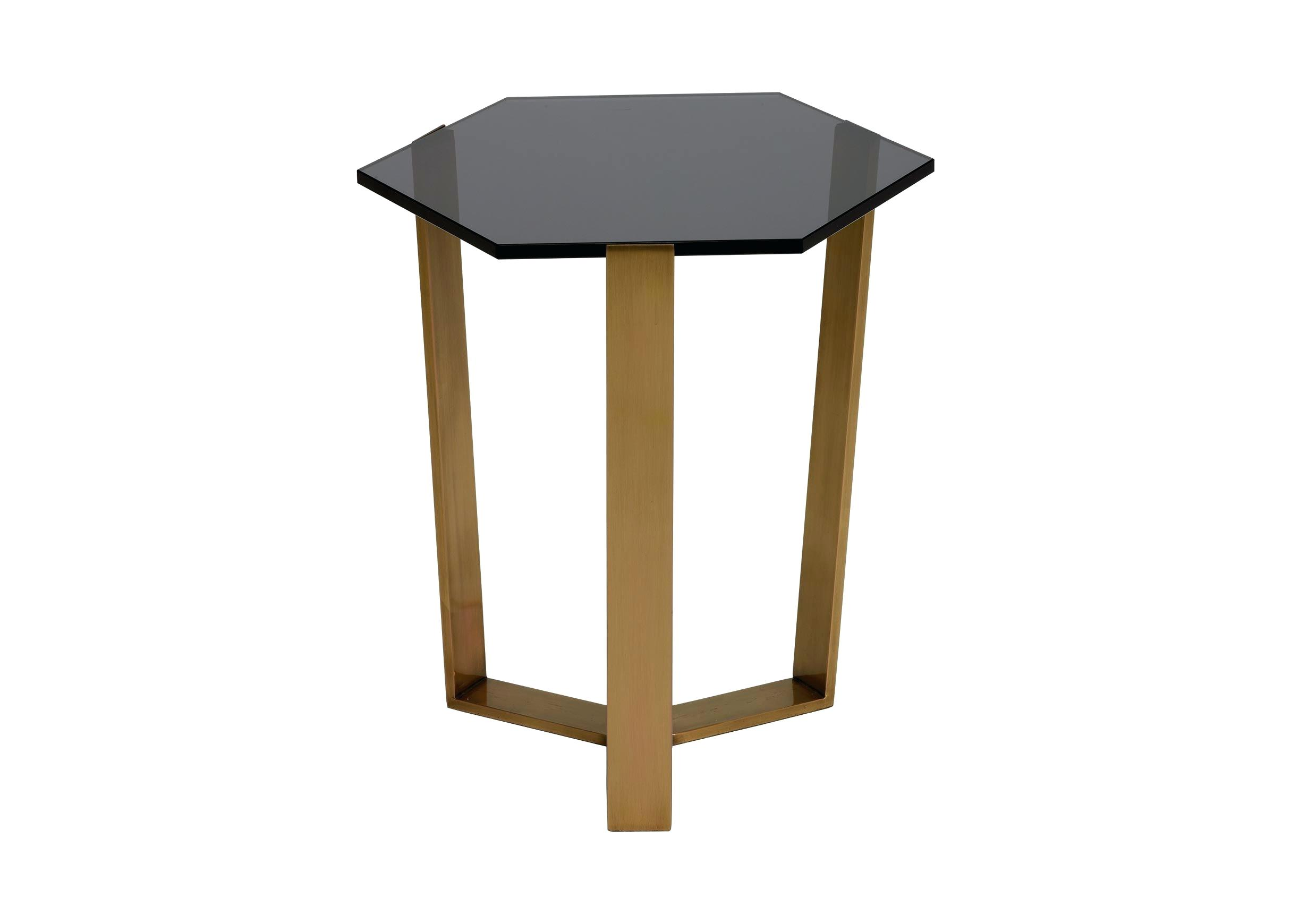 glass accent table black gold smoke iron avery top ikea garden shed storage cabinets with doors woven outdoor furniture bags large square rustic coffee tablecloth for inch round