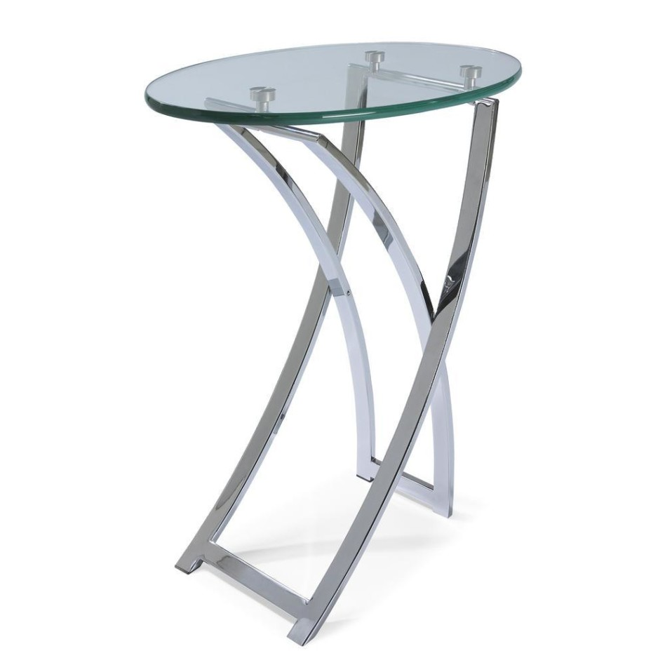 glass accent table navona tables contemporary chrome small target lamps full size resin outdoor side linens for inch round roland drum throne marble top kitchen dining living room