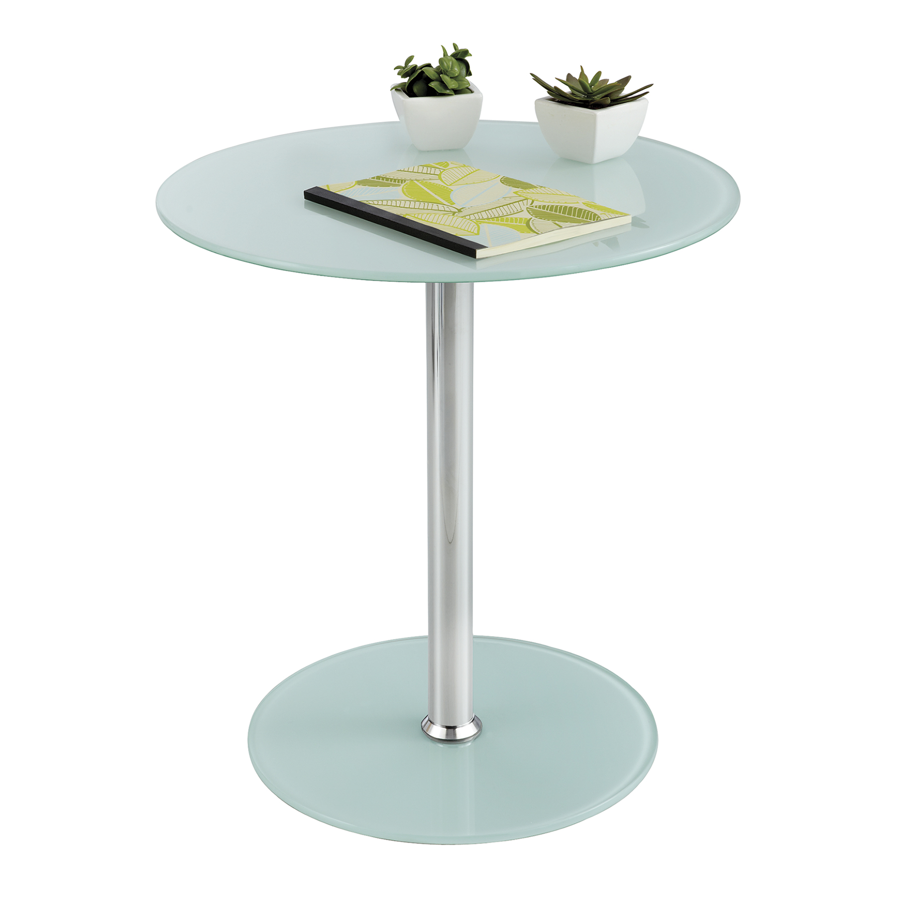 glass accent table safco products atlantic furniture cocktail coffee old antique tables round cotton tablecloth mirrored nightstand home goods unfinished end black marble and