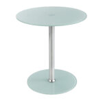 glass accent table safco products green metal round lucite coffee patio furniture toronto clearance vintage bedroom hallway mirror cabinet wooden folding side hobby lobby craft 150x150
