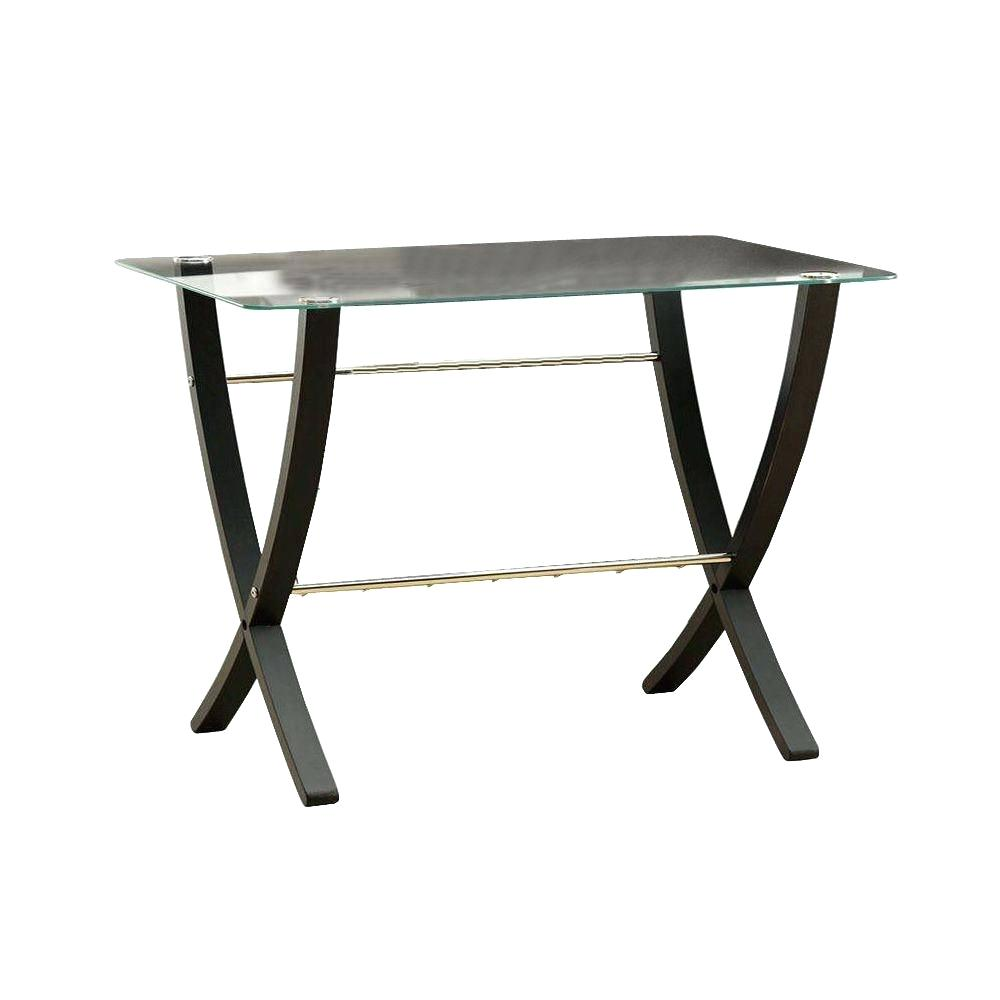 glass accent table tables living monarch specialties bentwood with tempered cappuccino the top brass lorelei green marble console dinette set coffee toronto tall stools piece long