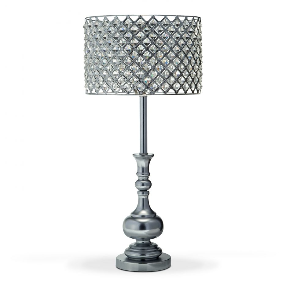 glass and crystal lamps tripod table lamp accent lighting floor antique marble top round patio portland fine furniture cocktail linens bedside with storage carpet dividers