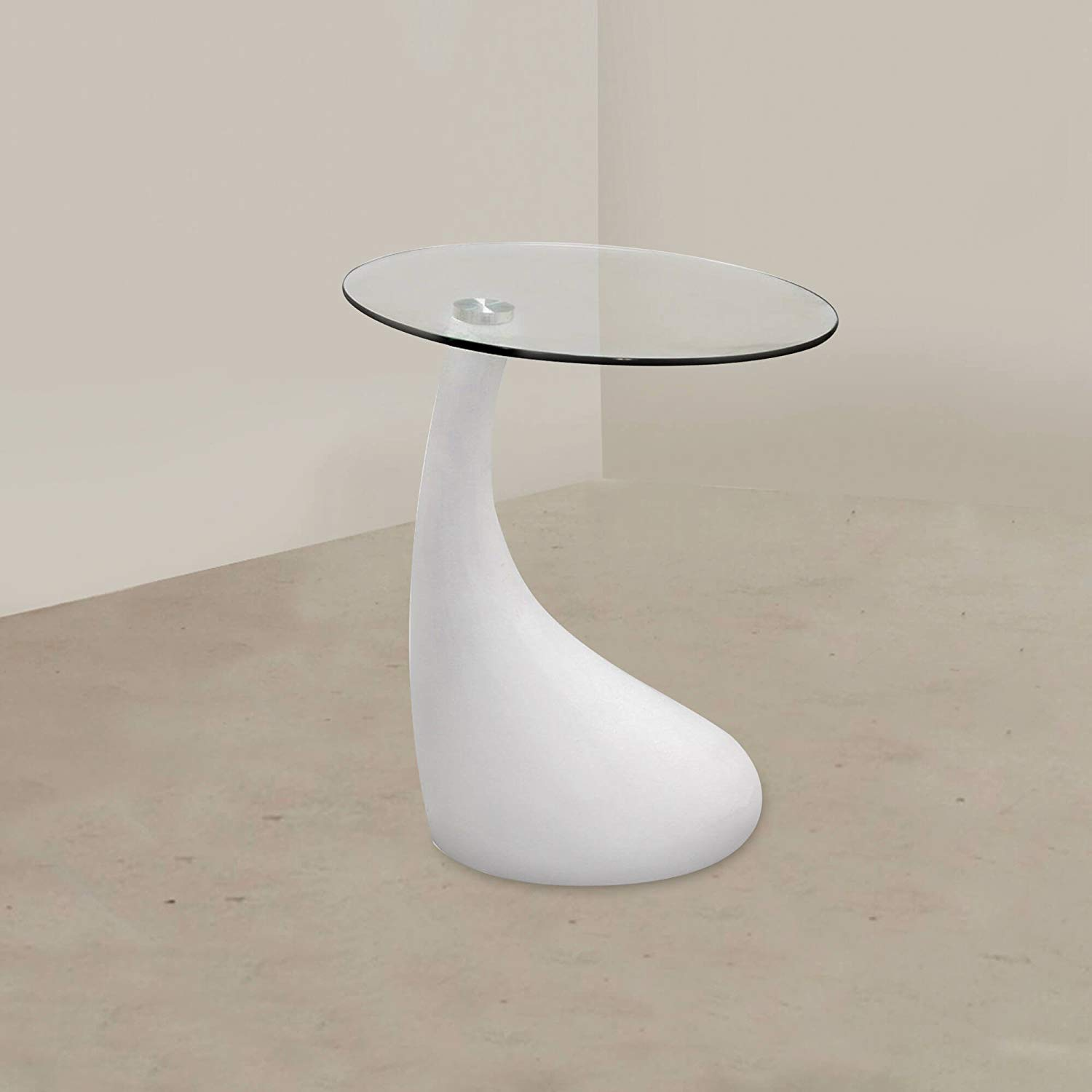 glass and mirror teardrop side table white kitchen awl hawthorne top accent bronze dining square patio cover end tables brown marble kirklands uttermost lamps modern round coffee