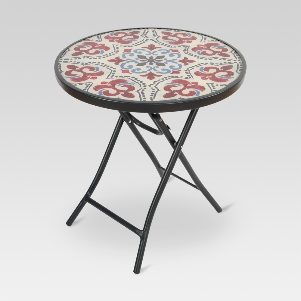 glass folding patio accent table medallion threshold products ikea desk commercial tablecloths nautical porch lights small wooden with drawers metal bookshelf end dimensions bar