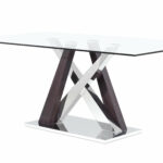 glass kitchen dining tables you love sloan table small half circle accent console with wine rack contemporary set canvas patio umbrella floor lamp hallway target white metal 150x150