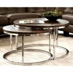 glass nesting side tables circular stacking marble nest top end round table set silver accent large size stained pendant light battery powered house lights mosaic halloween 150x150
